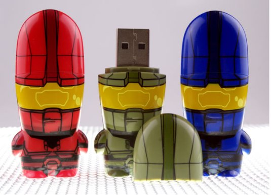 Halo Master Chief Mimobot USB Flash Drive